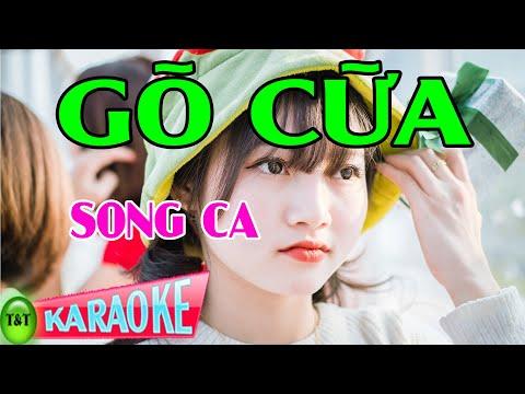 Karaoke Gõ Cửa Song Ca | Thái Tài